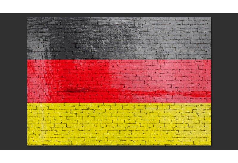 German Flag 280m X 400cm Wallpaper