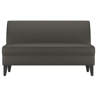 Shop Petterson Armless Loveseat by Ebern Designs