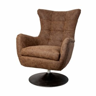 Latitude Run Whiteley Swivel Lounge Chair