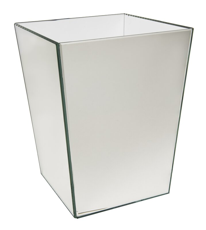 Waste Basket wildon home ® crystal waste basket & reviews | wayfair