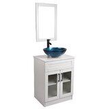Muspell 24 Single Bathroom Vanity Set with Mirror by Wrought Studio