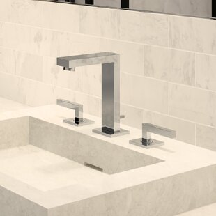 Symmons Duro Mount Widespread Bathroom Faucet with Drain Assembly