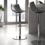 Ayon Swivel Adjustable Height Bar Stool by Upper Square™