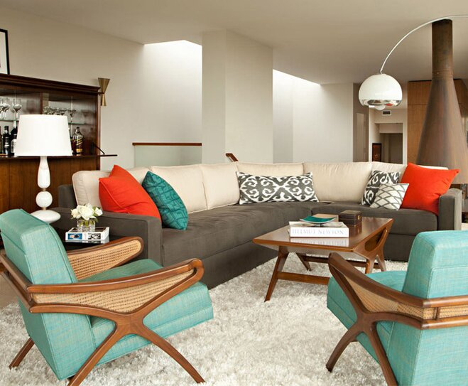 Awesome Mid Century Modern Style Decorating