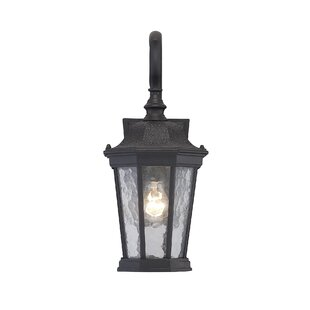 Affordable Price Alorton 1-Light Outdoor Wall Lantern By Fleur De Lis Living