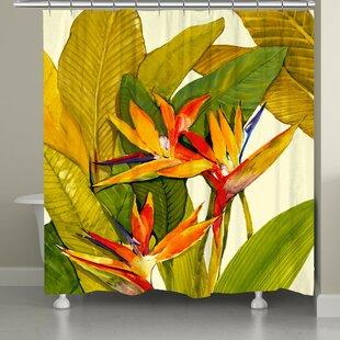 ElianaTropical Bird of Paradise Shower Curtain ByBayou Breeze