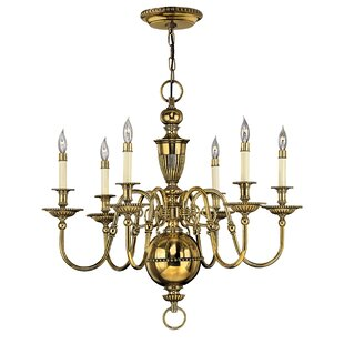 Hinkley Lighting Cambridge 6-Light Candle-Style Chandelier
