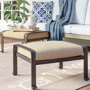 Three Posts Lebanon Ottoman with Cushion ..