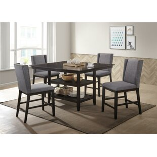 Wallach 5 Piece Pub Table Set ..