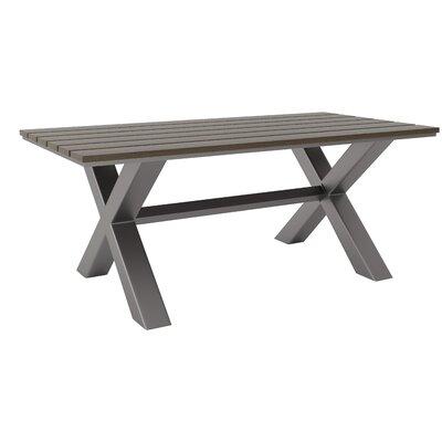 Hershman Rectangular 30 Inch Table by Brayden Studio Best Design