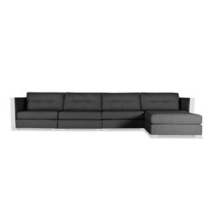 Steffi Buttoned Chaise Modular Sectional