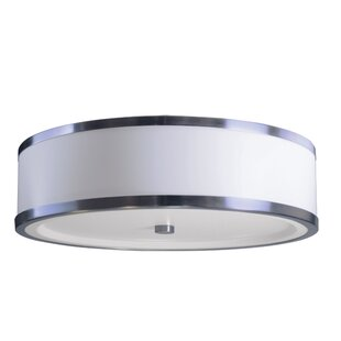 Latitude Run Shores 3-Light Flush Mount