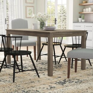 Selina Wood Dining Table Gracie Oaks