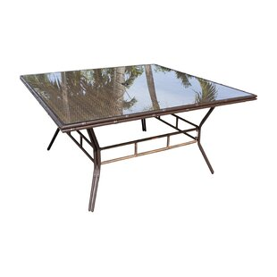 Rum Cay Glass Dining Table by Panama Jack..