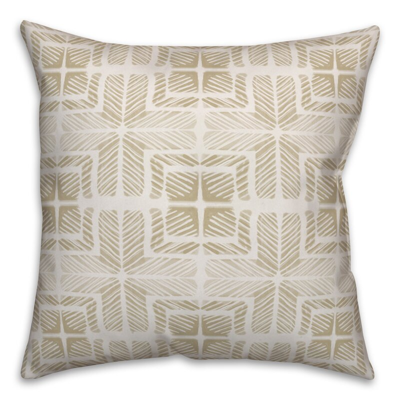 Ebern Designs Doud Shibori Throw Pillow Wayfair