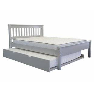 Compare & Buy Treva Full Slat Bed with Full Trundle ByHarriet Bee