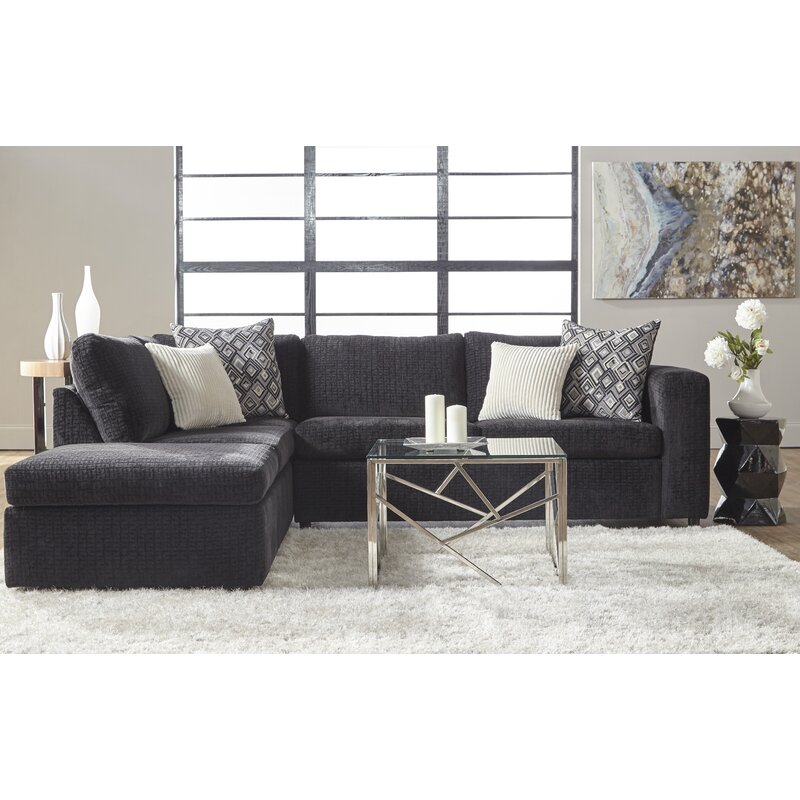 Isaacs 112 Left Hand Facing Sectional Reviews Birch Lane