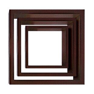 Cubbi 3 Piece Wall Shelf Set by nexxt Design