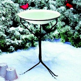 Allied Precision Industries Stand Heated Birdbath
