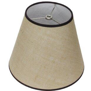11 Burlap Empire Lamp Shade