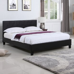 Classic Upholstered Platform Bed by Madison Home USA