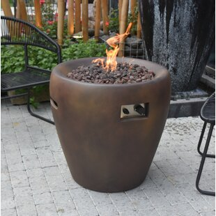 Osvaldo Concrete Propane Fire Pit By Sol 72 Outdoor