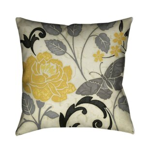 Perfect Petals II Throw Pillow