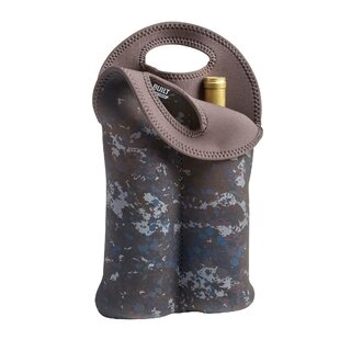 Two Tweed Camo Bottle Wine Tote