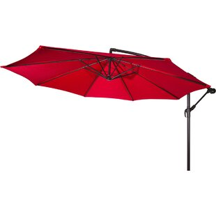 Latitude Run Stockham 10' Cantilever Umbrella
