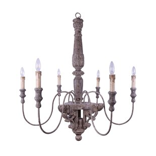Knott 6-Light Chandelier b..