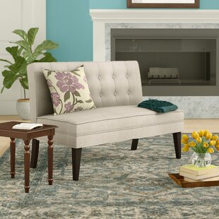 Hicks Settee Loveseat by Charlton Home