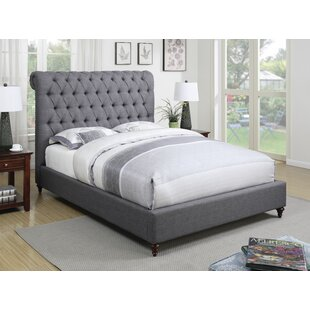 Alina Upholstered Panel Bed