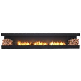 FLEX158-Bay Wall Mounted Bio-Ethanol Fireplace Insert
