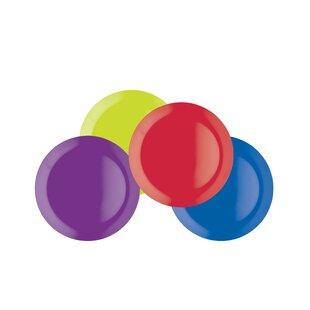 Colourworks Melamine Side Plate Set (Set Of 4) Image
