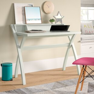 Arias Sleek Contemporary Cross Legs Writing Desk