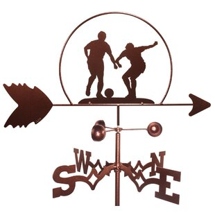 Soccer Football MLS Weathervane By SWEN Products