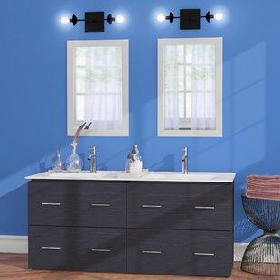Maryalice Wall Mount 48 Double Bathroom Plywood Vanity Set by Royal Purple Bath Kitchen