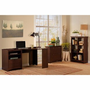Savings Fralick 2 Piece L-Shape Desk Office Suite ByDarby Home Co