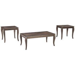 Ophelia & Co. Oneridge 3 Piece Coffee Table Set