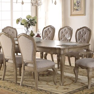 Donatella Extendable Dining Table by One Allium Way Best #1