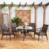 Fritts 5 Piece Bistro Set (Set of 5)