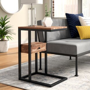 Xander C End Table with Storage (Set of 2) by Ebern Designs