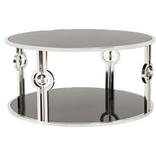 Chantrell Stainless Steel Coffee Table by Orren Ellis