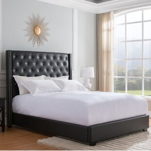 Rivage Upholstered Panel Bed by Rosdorf Park
