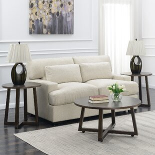 Rene 3 Piece Coffee Table Set