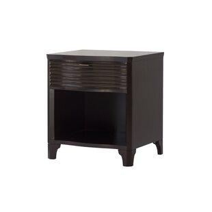 Brownstone Furniture Townsend 1 Drawer Nightstand