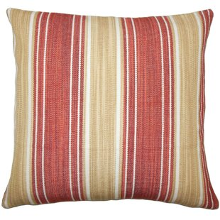 Ferlin Striped Cotton Throw Pillow