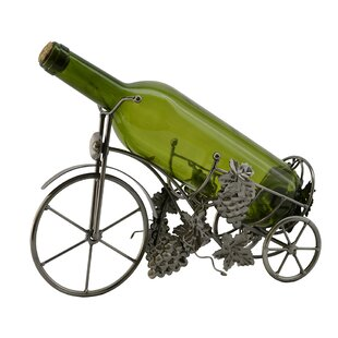 Tricycle 1 Bottle Tabletop Wine Rack by W..