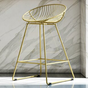 Modern Gold Bar Counter Stools Allmodern