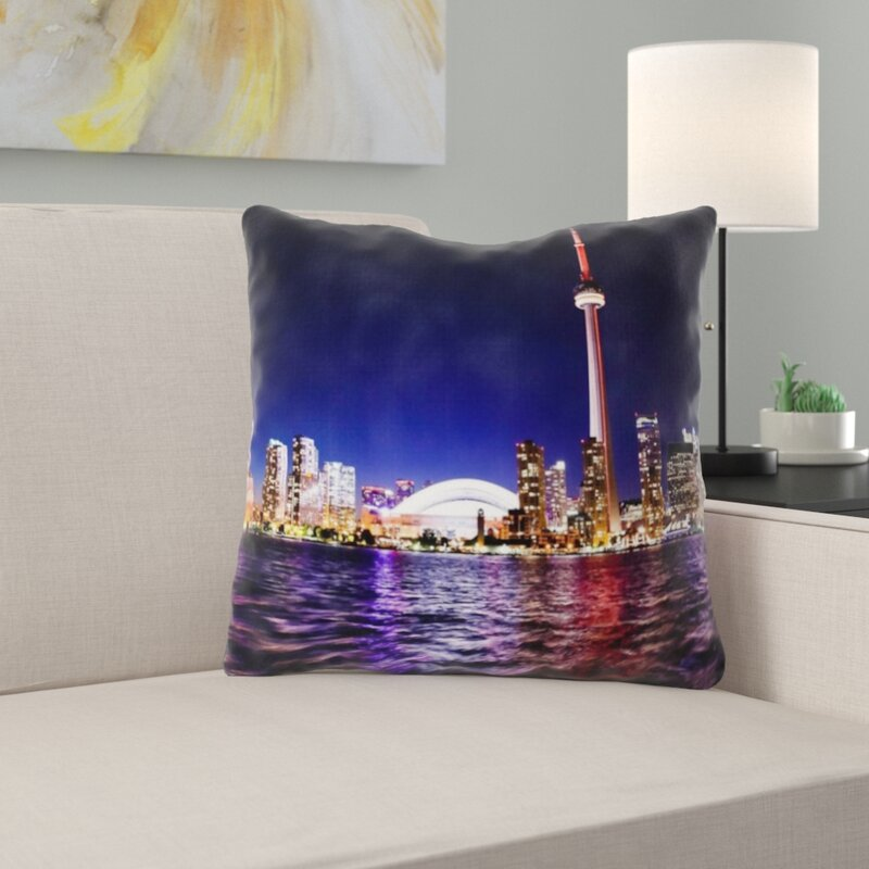 East Urban Home Toronto Throw Pillow Wayfair